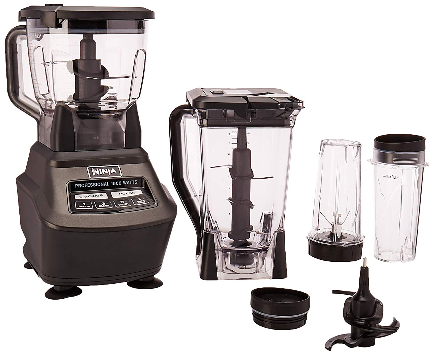 Ninja mega kitchen system (bl770) blender/food processor