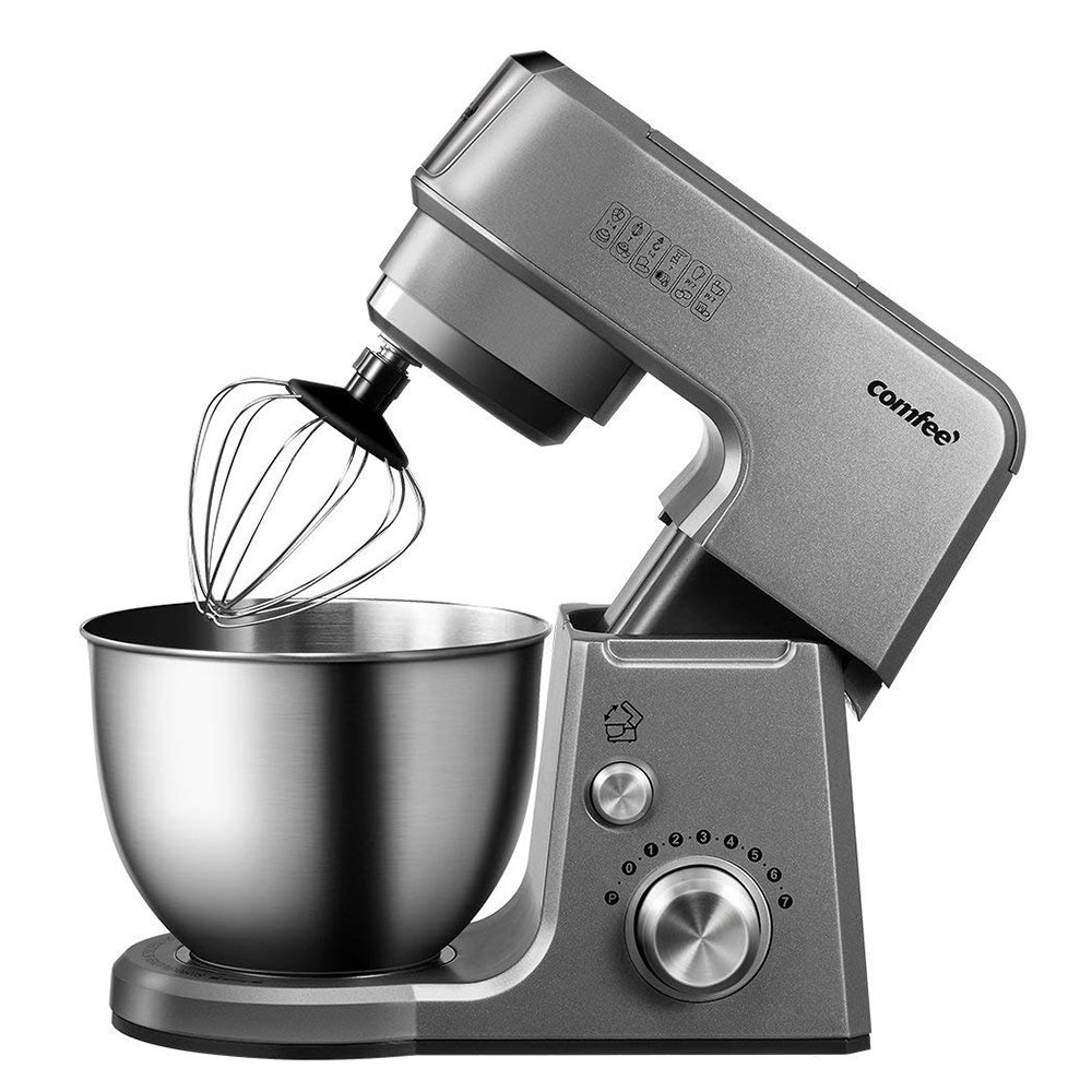 Comfee 2.6qt die cast 7-in-1 stand mixer