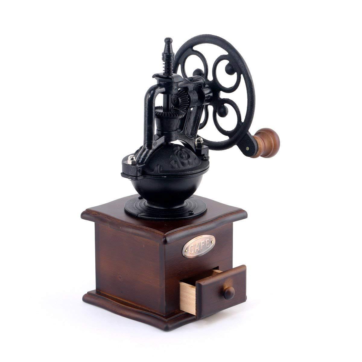 Foruchoice vintage style coffee grinder spice hand grinding machine