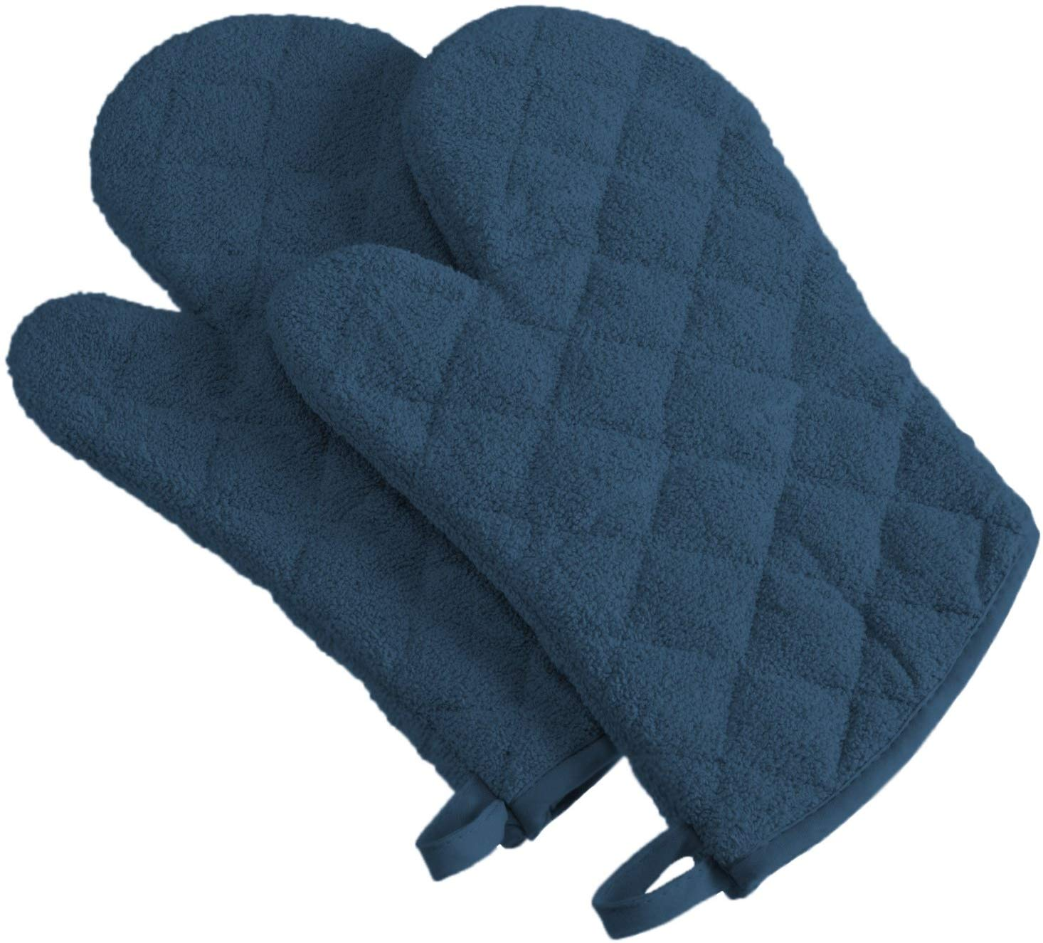 Dii cotton terry oven mitts