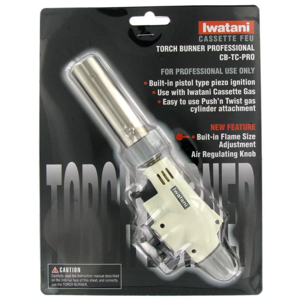 Iwatani cooking professional culinary butane crème brûlée and food torch burner