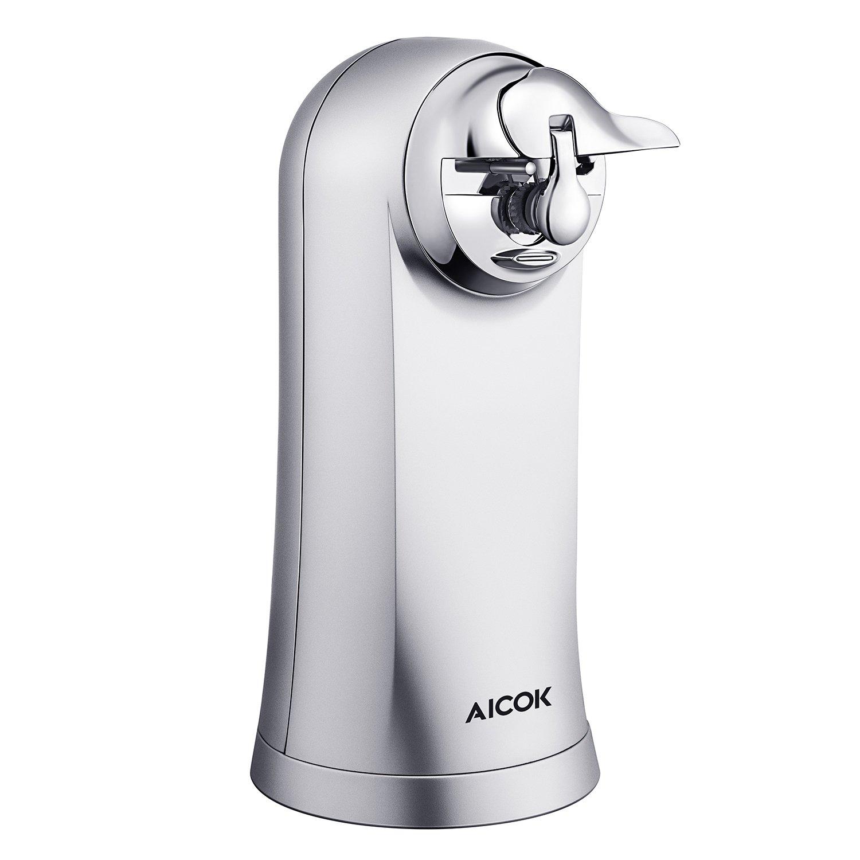 Aicok electric can opener bottle opener knife sharpener 3 in 1