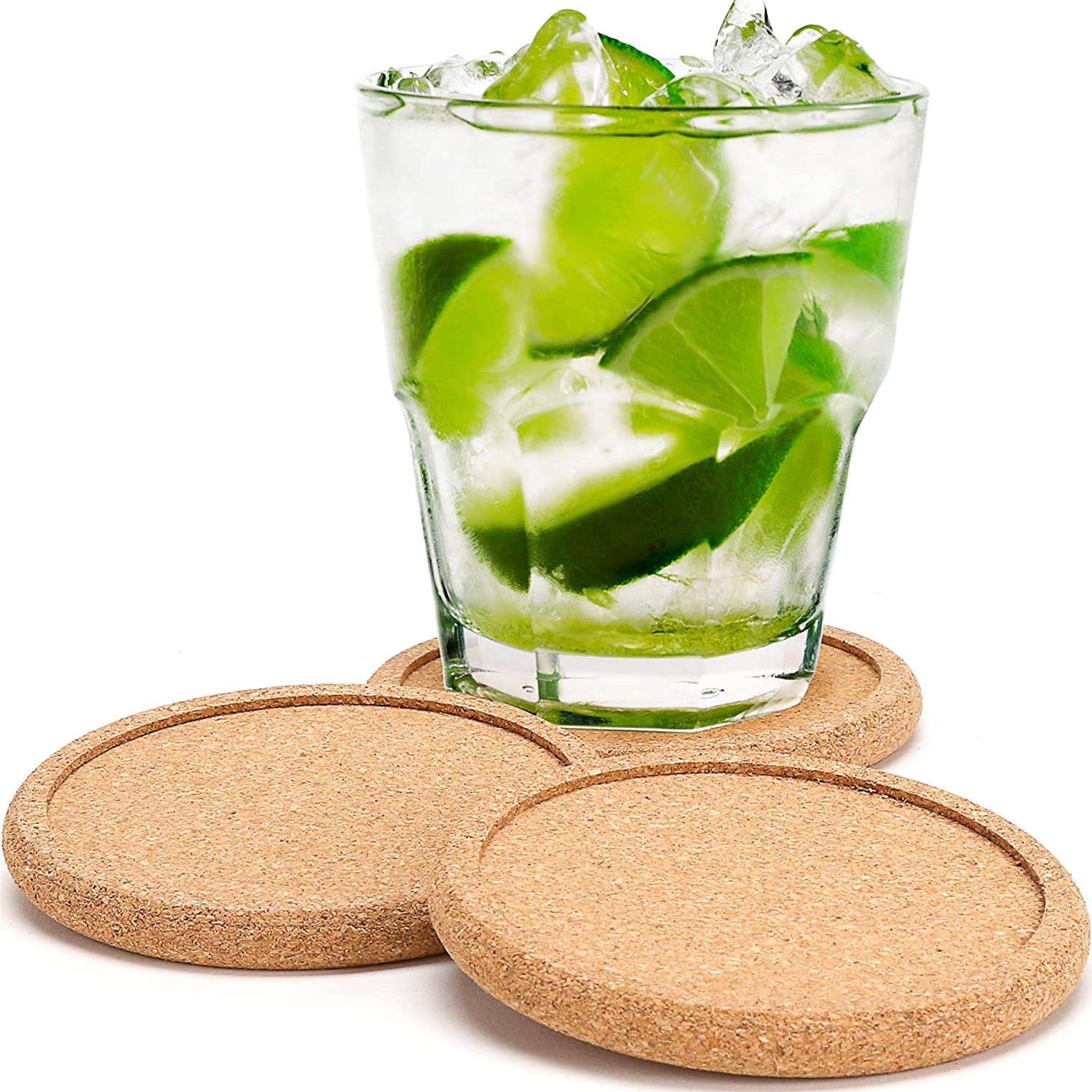 Dulce cocina cork coasters for drinks