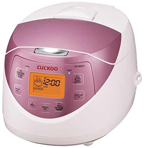 Cuckoo electric rice cooker and warmer