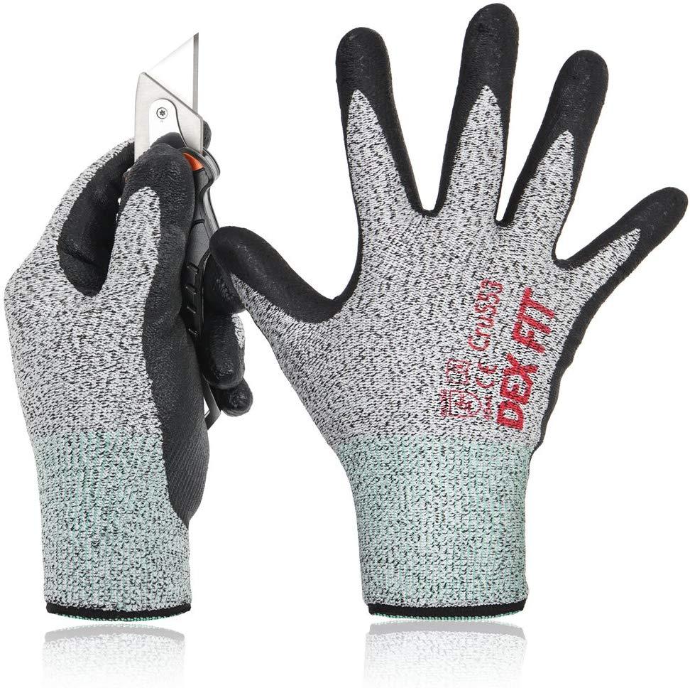 Dex fit level 5 cru553 cut-resistant glove