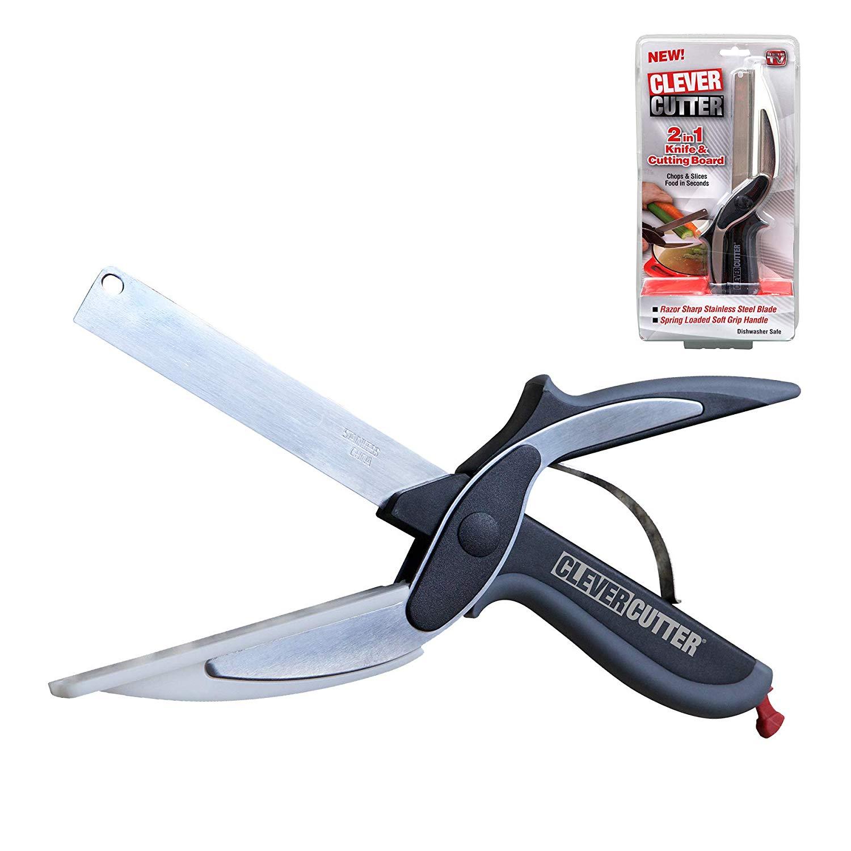 Clever cutter 2-in-1 food chopper