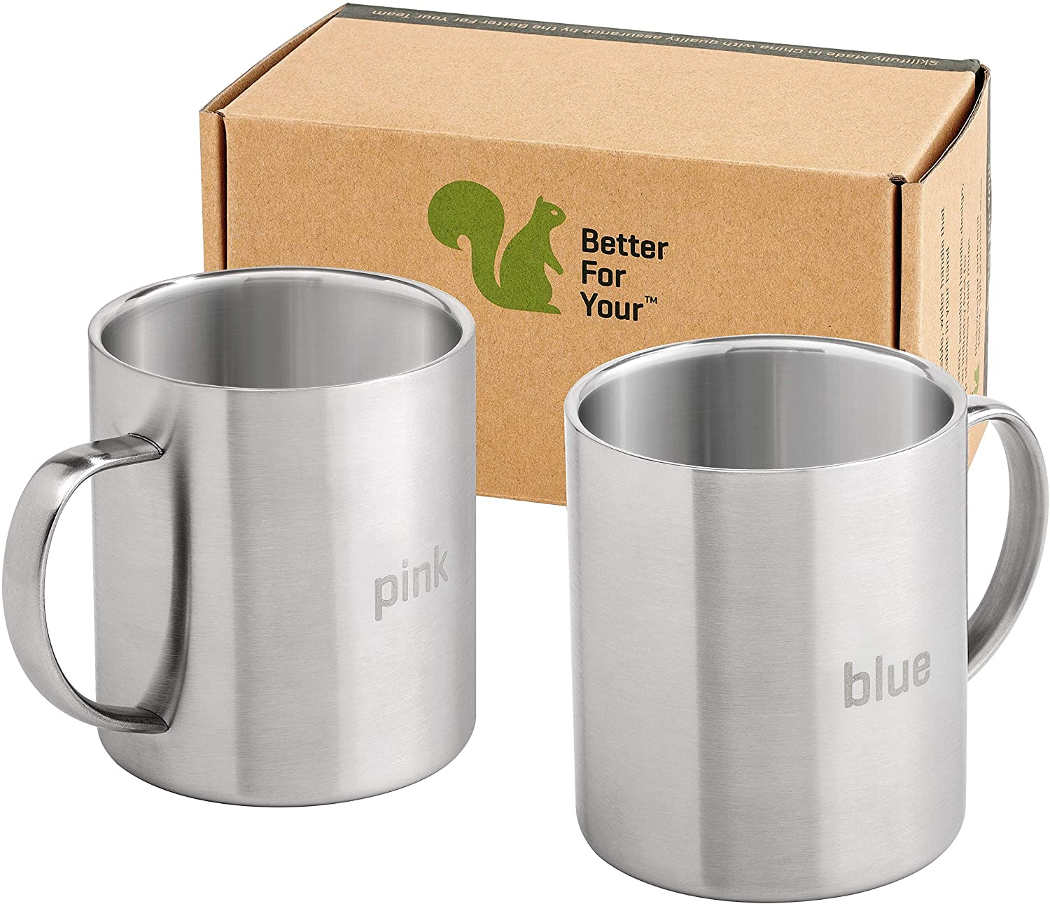 Better for your coffee mugs stainless steel