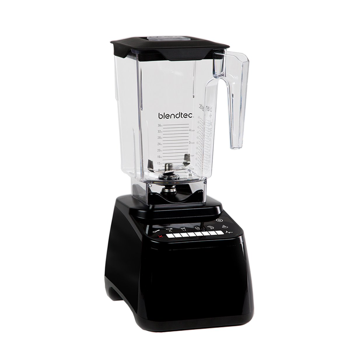 Blendtec – designer series 8-speed blender in black
