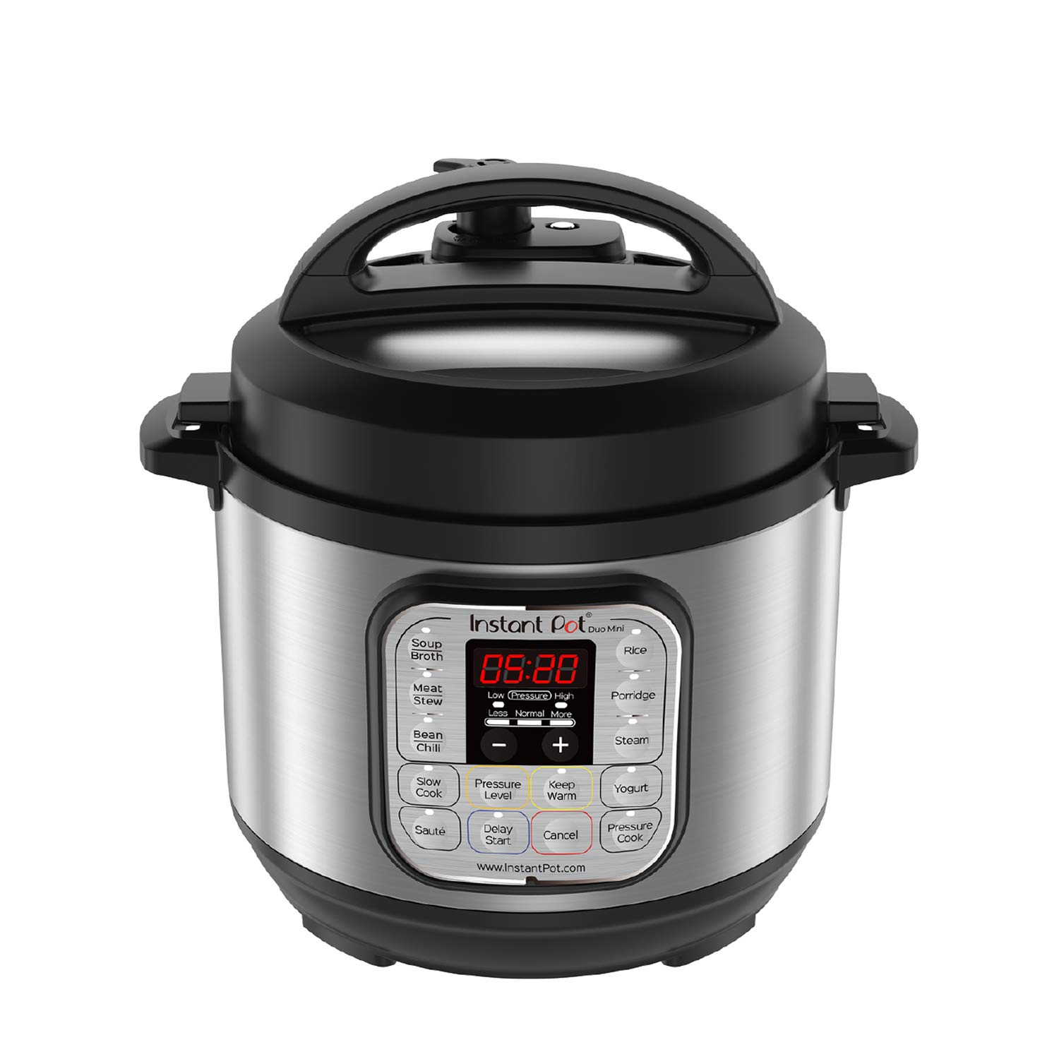 Instant pot duo mini 3 qt 7-in-1 multi-use programmable pressure cooker, slow cooker, rice cooker, steamer, sauté, yogurt maker, and warmer
