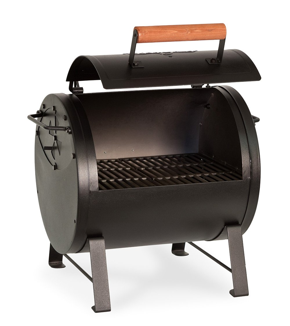 Char-griller 2-2424 table top charcoal smoker grill