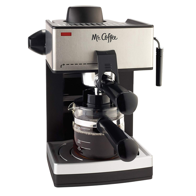 Mr. coffee four-cup steam espresso system