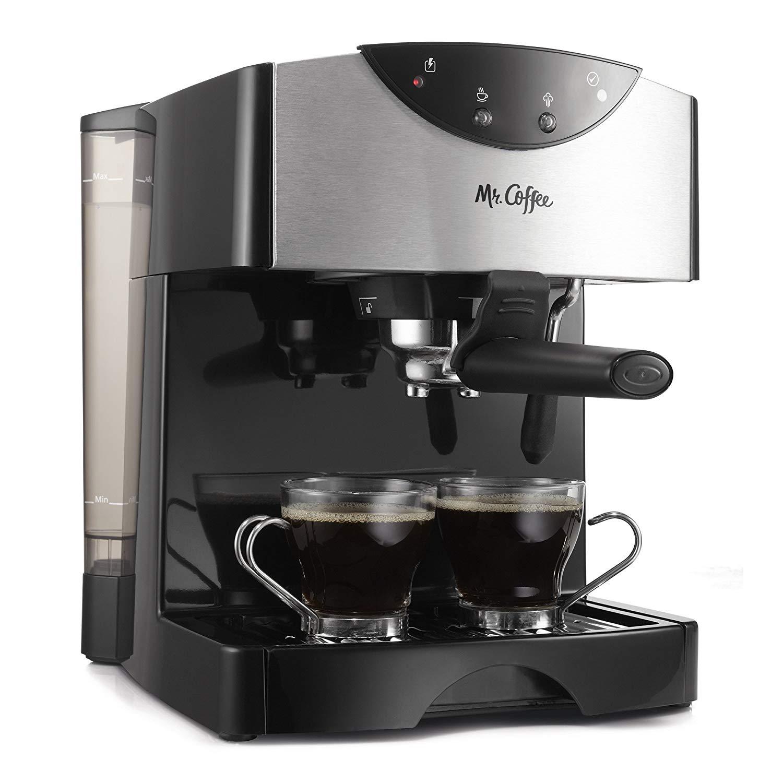Mr. coffee ecmp50 automatic dual shot espresso/cappuccino system