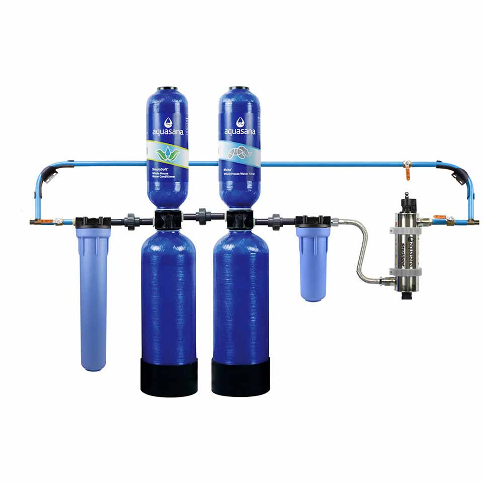 Aquasana  10-year whole house water filter