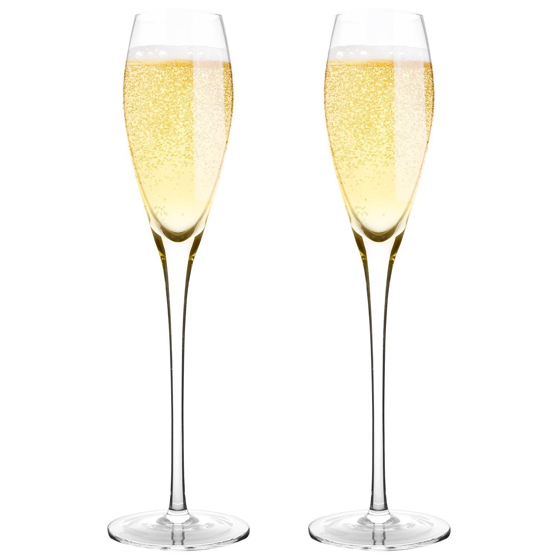 Bella vino premium champagne flutes