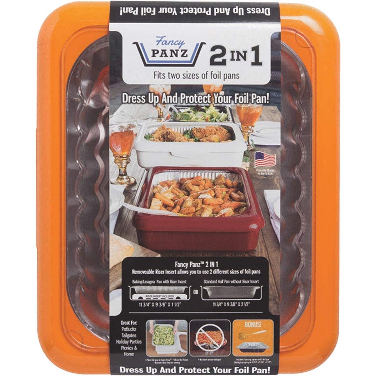 Fancy panz 2-in-1 portable casserole carrier