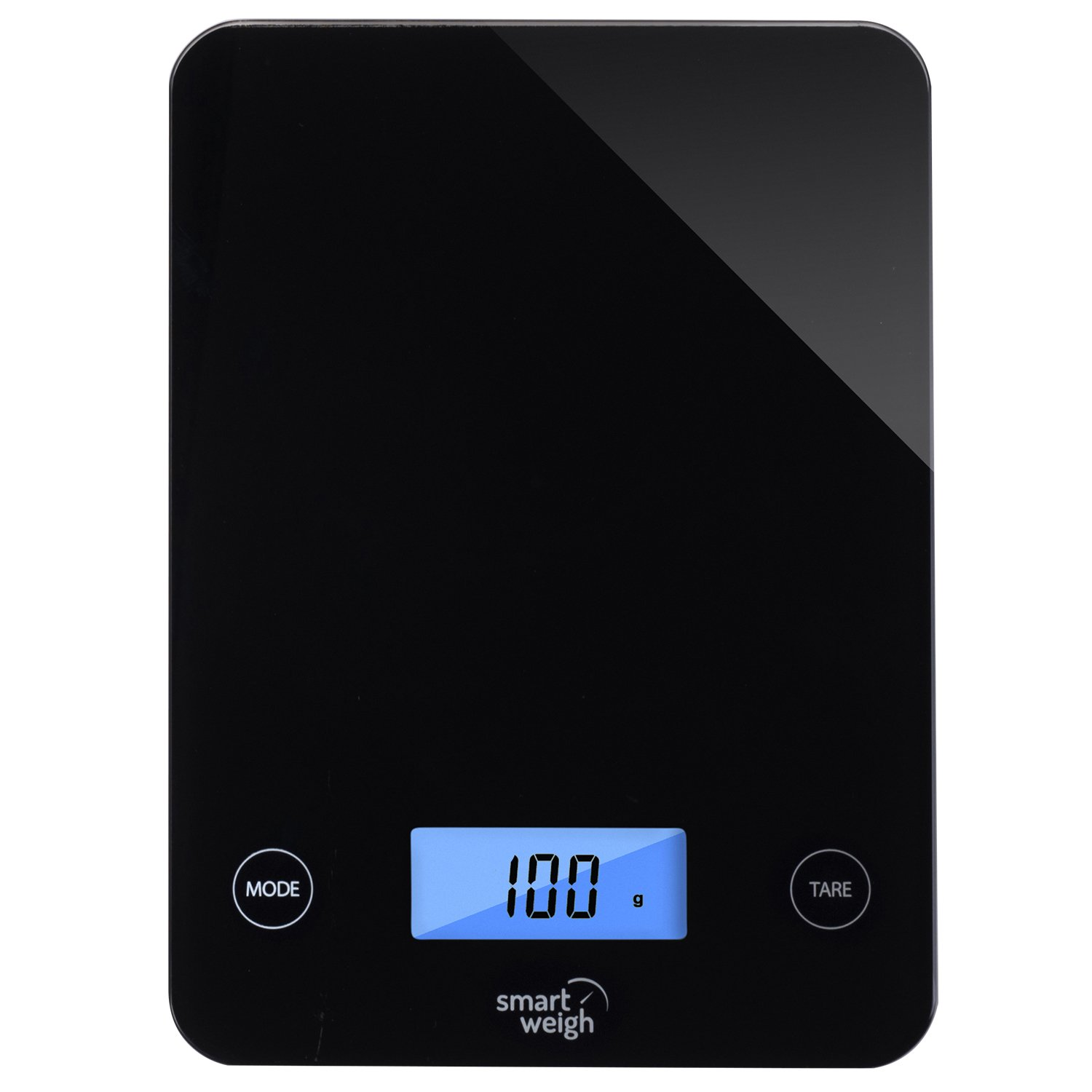 Smart weigh, digital glass top kitchen and food scale