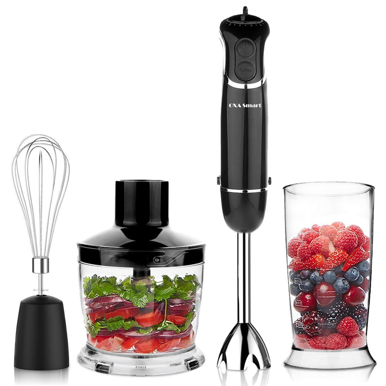 Oxa smart powerful 4-in-1 versatile blender