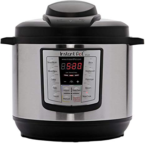 The instant pot lux60v3 6-in-1 pressure cooker