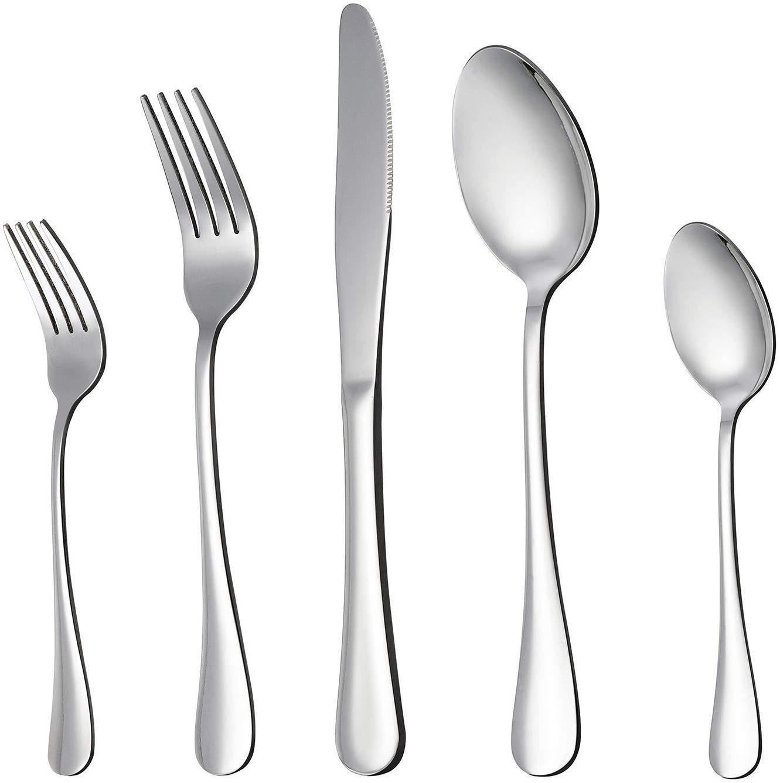Lianyu silverware flatware cutlery set