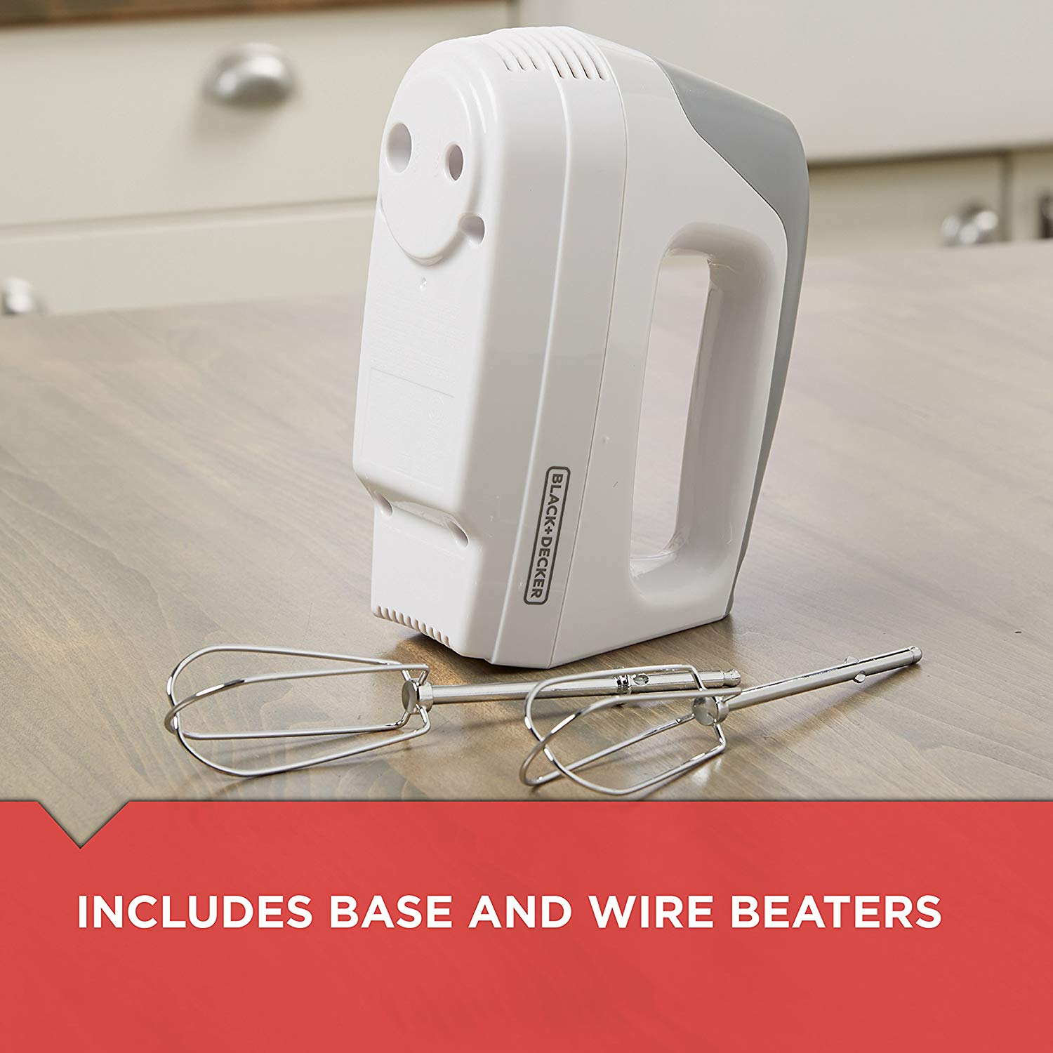 Black+decker lightweight 5-speed hand mixer