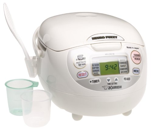Zojirushi neuro fuzzy® rice cooker and warmer
