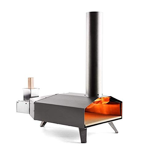 Ooni 3 portable wood pellet pizza oven w/stone and peel