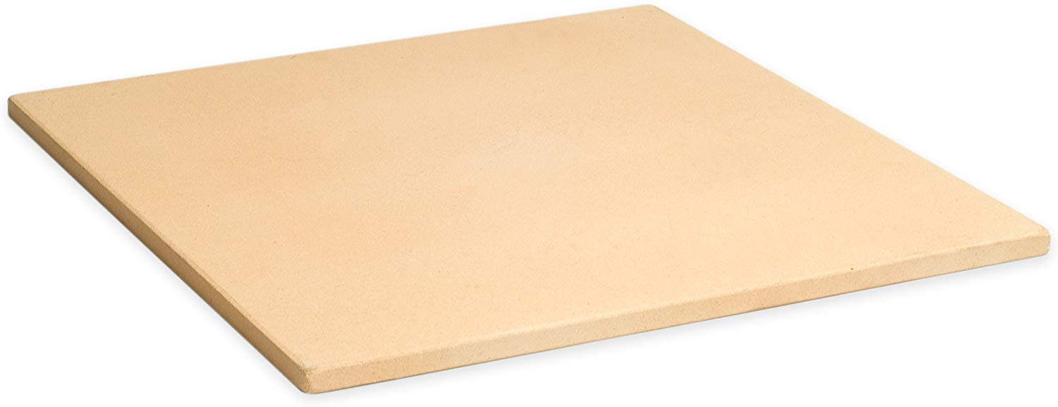 Pizzacraft square cordierite pizza/baking stone 15""