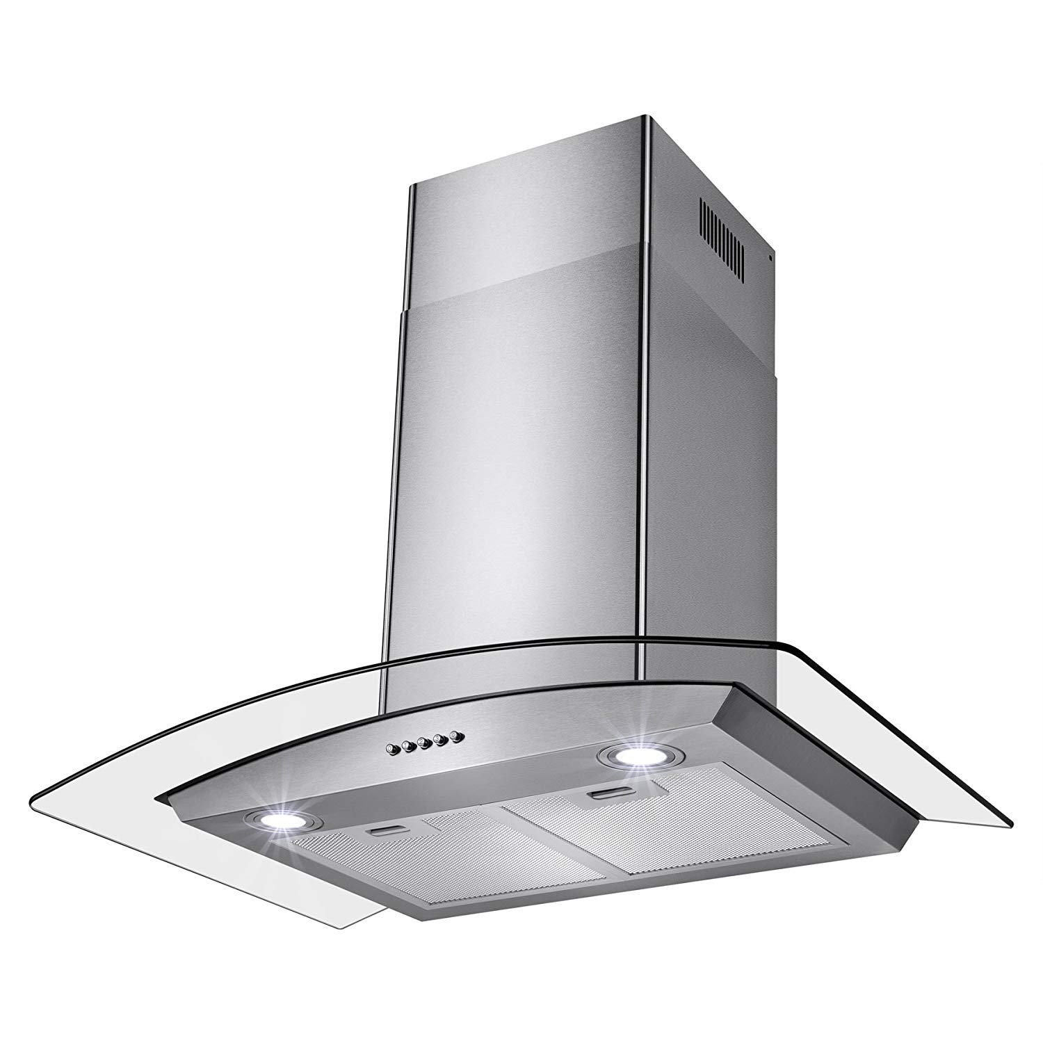 Perfetto kitchen and bath 30-inch convertible range hood