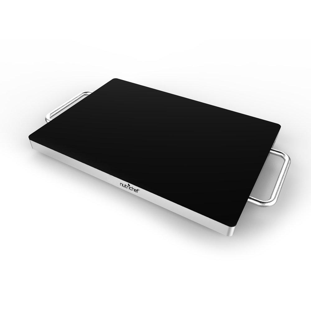 Nutrichef electric warming tray