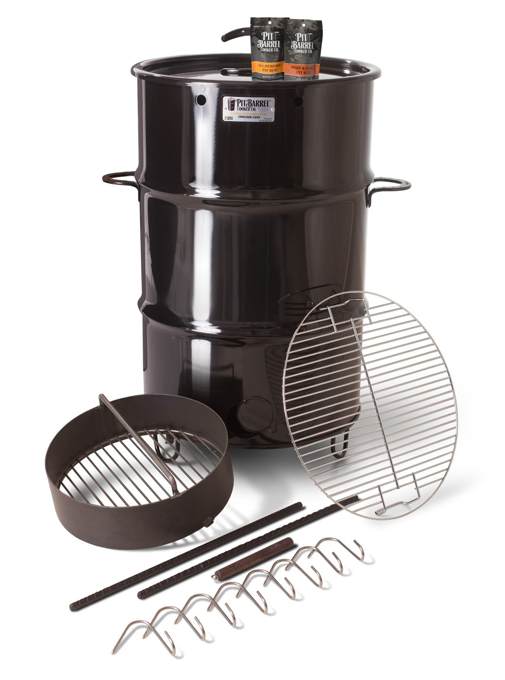 Pit barrel cooker smoker grill