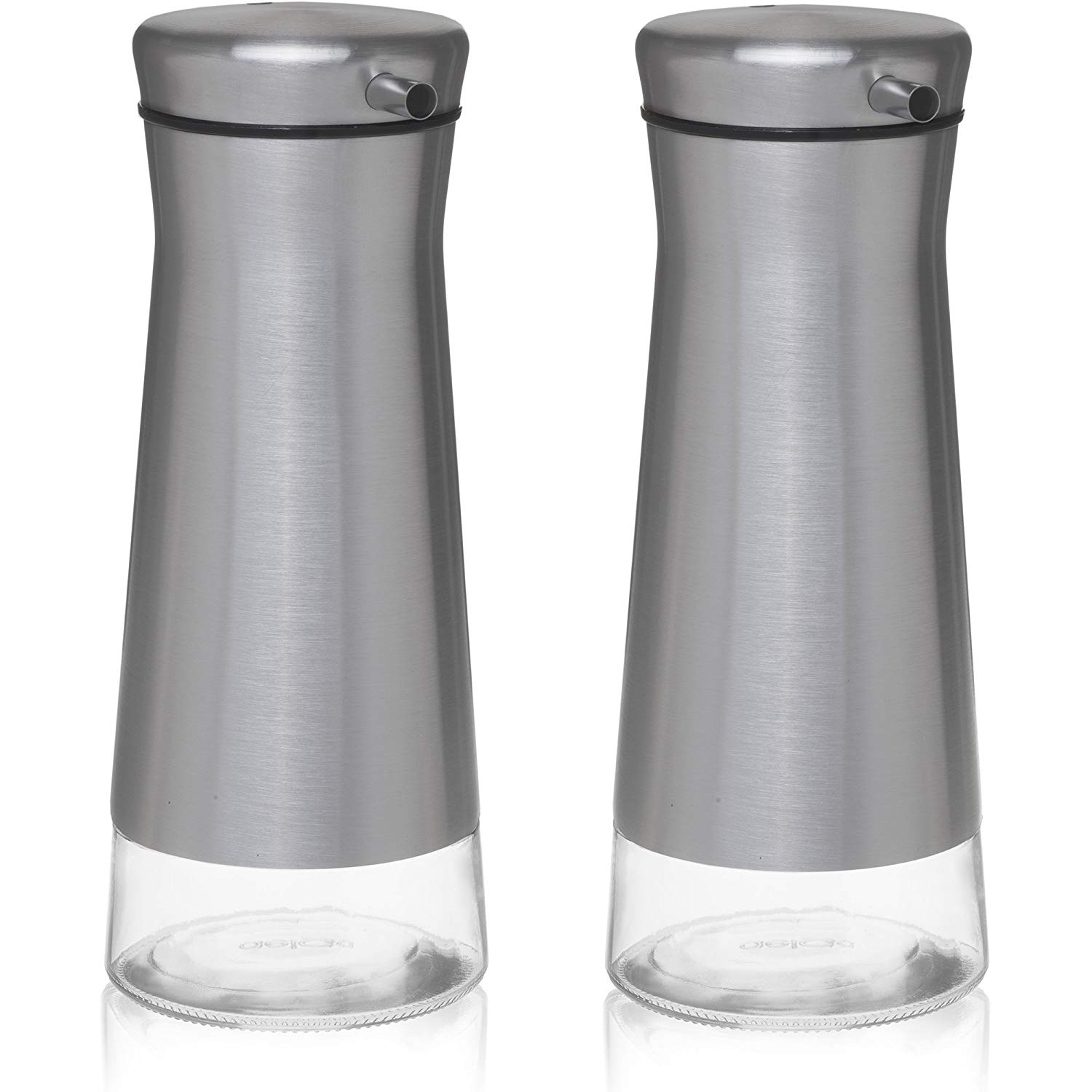 ??chefvantage olive oil & vinegar cruet dispenser set
