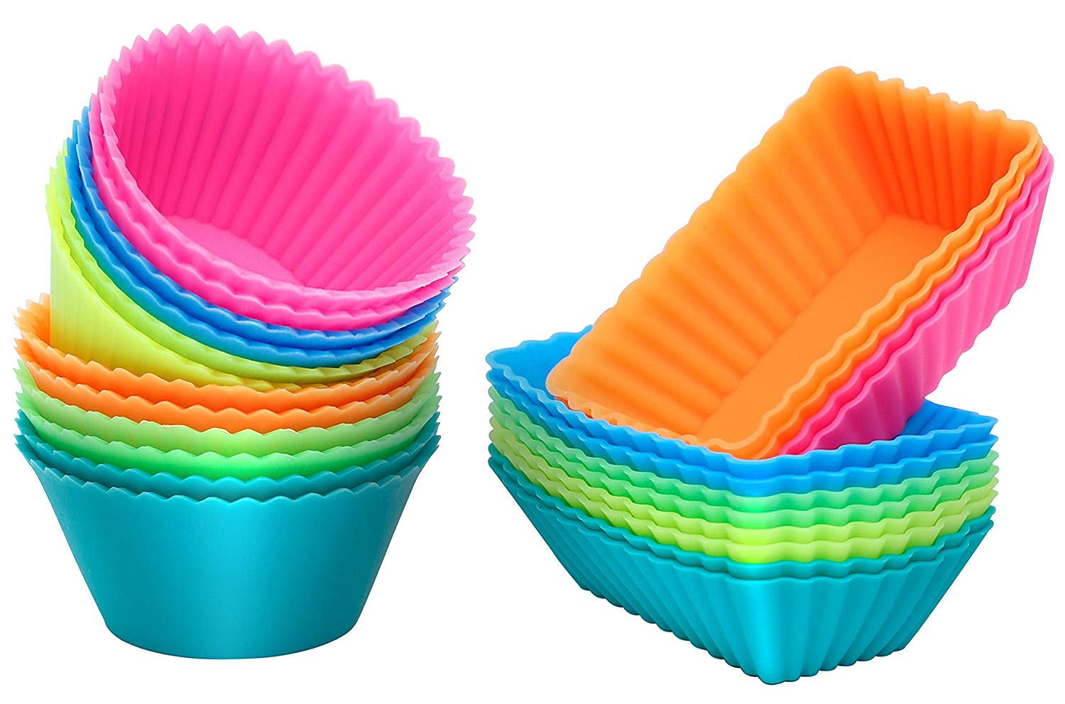 Ipow thicken silicone muffin cups