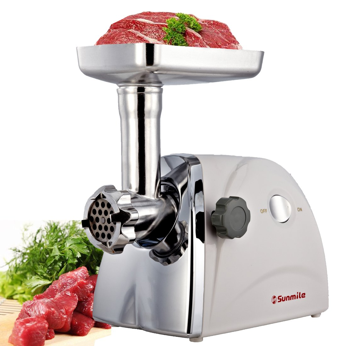 Sunmile sm-g31 etl electric meat grinder and sausage stuffer maker