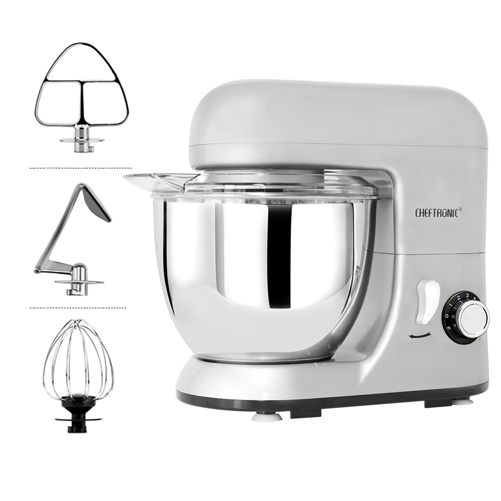 Cheftronic 4.2-quart tilt-head kitchen electric mixer