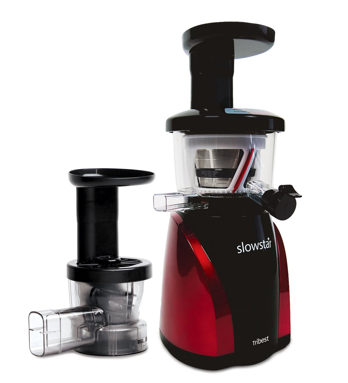 Tribest sw-2000-b slowstar vertical slow cold press juicer and mincer