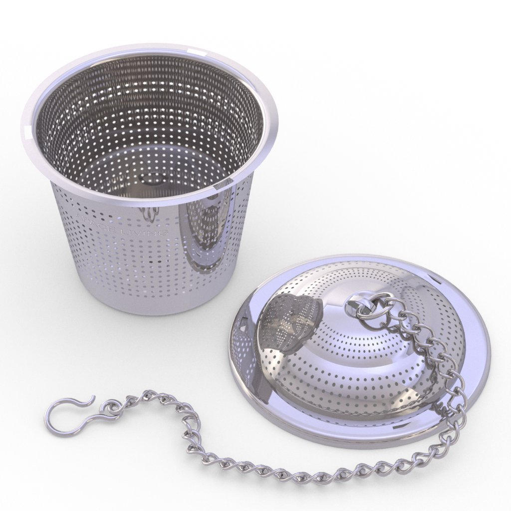 Stainless steel tea infuser basket apace living