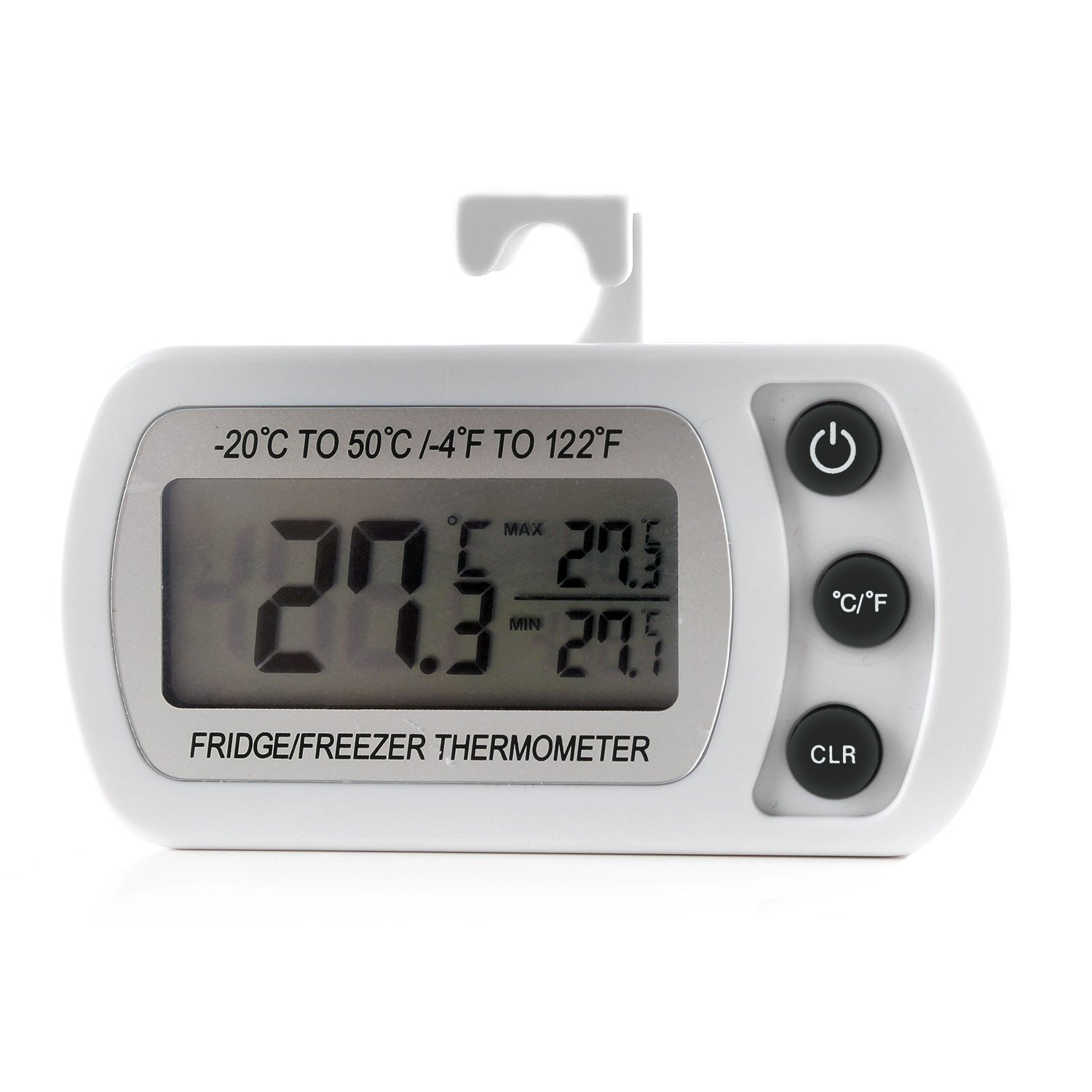 Unigear refrigerator fridge thermometer digital freezer room thermometer