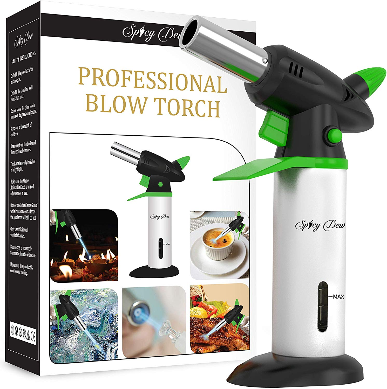 Spicy dew blow kitchen torch
