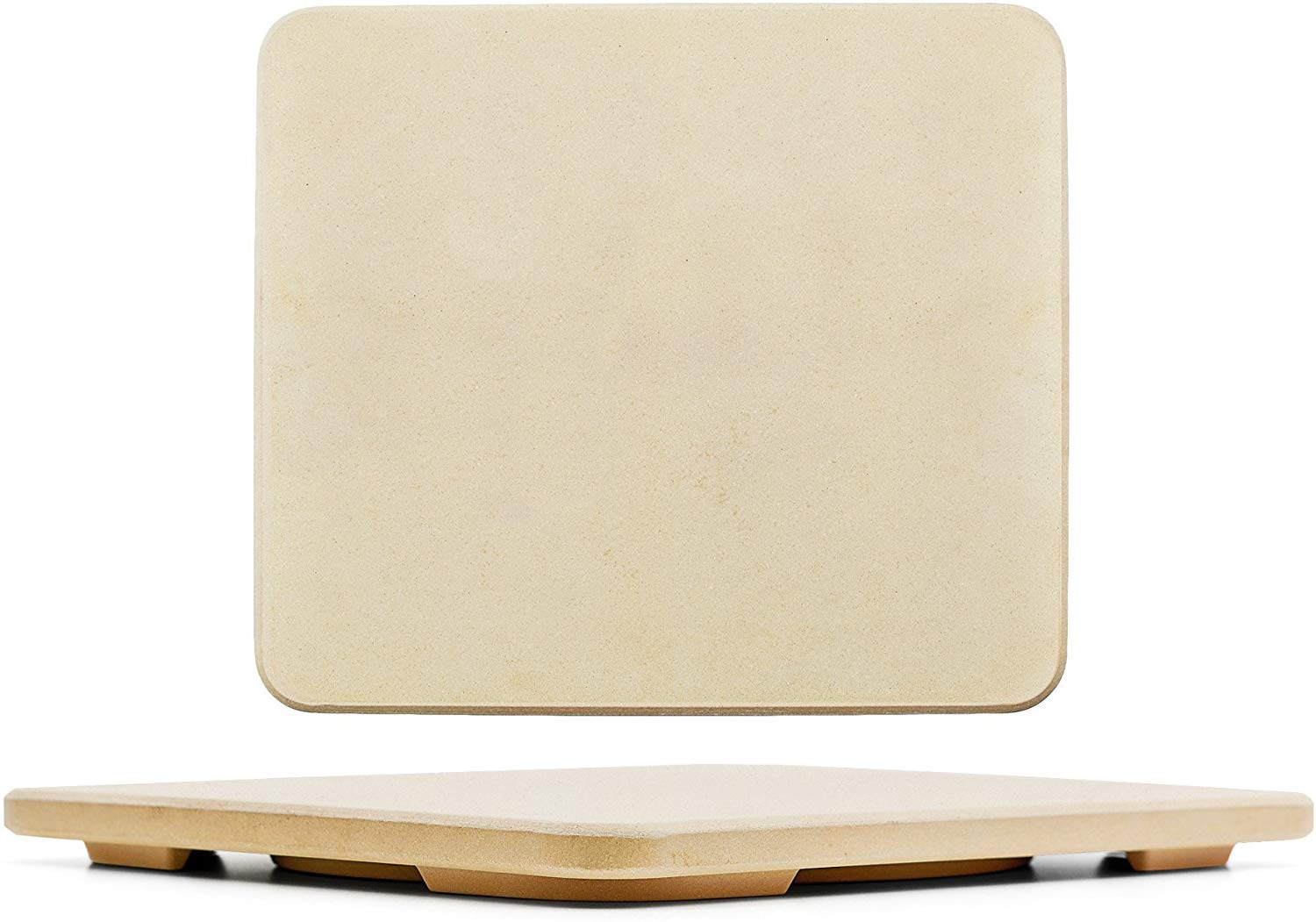 Solido rectangular 14-by-16-inch pizza stone