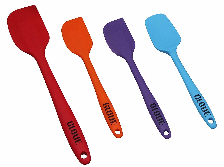 Gloue silicone spatula set