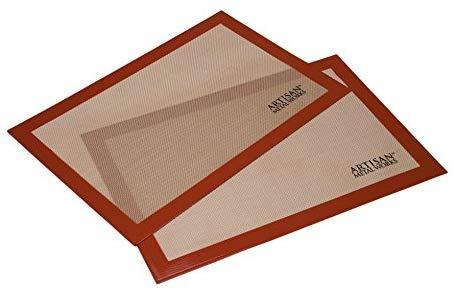Artisan silicone baking mat