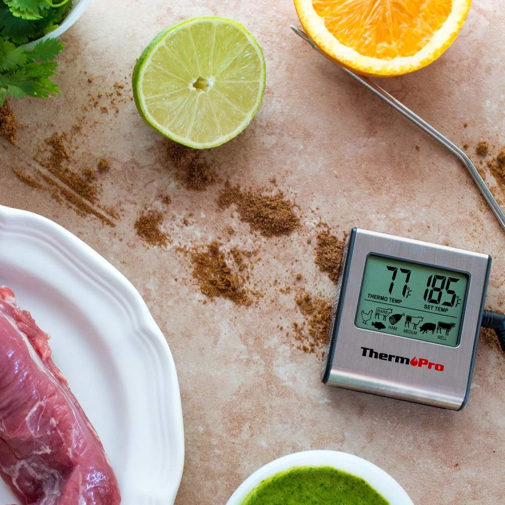 Thermopro tp-16 large lcd digital cooking meat thermometer