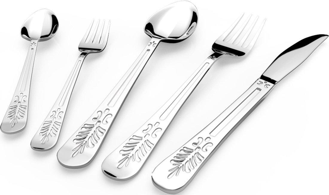 Utopia kitchen stainless steel flatware set