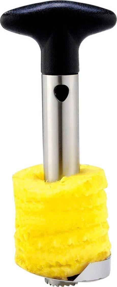 Pineapple corer slicer peeler stainless-steel – 3 in 1 tool
