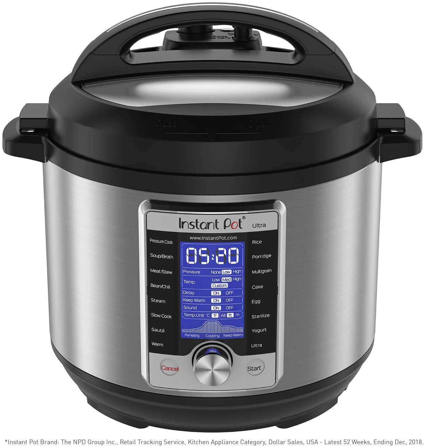 Instant pot ultra 6-quart pressure cooker