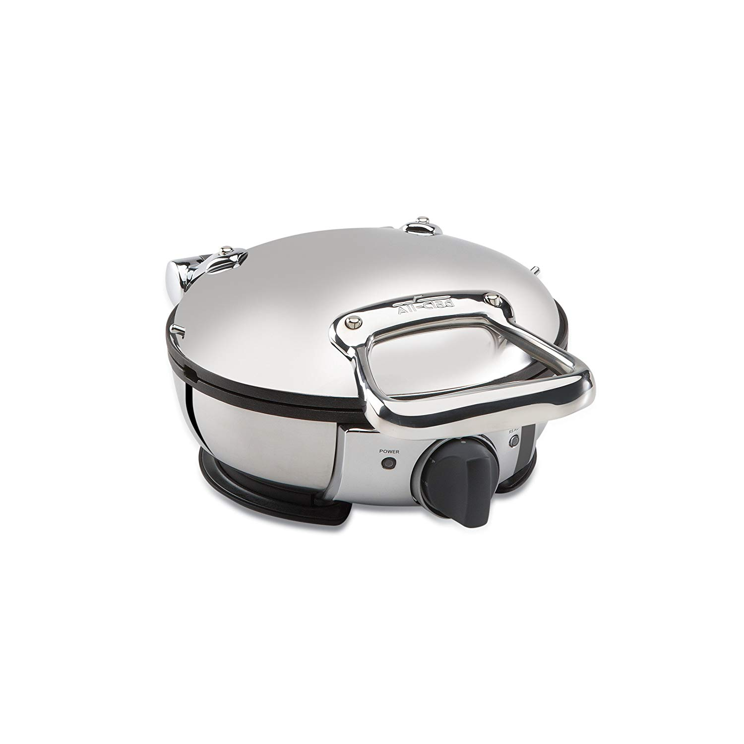 All-clad stainless steel classic round waffle maker