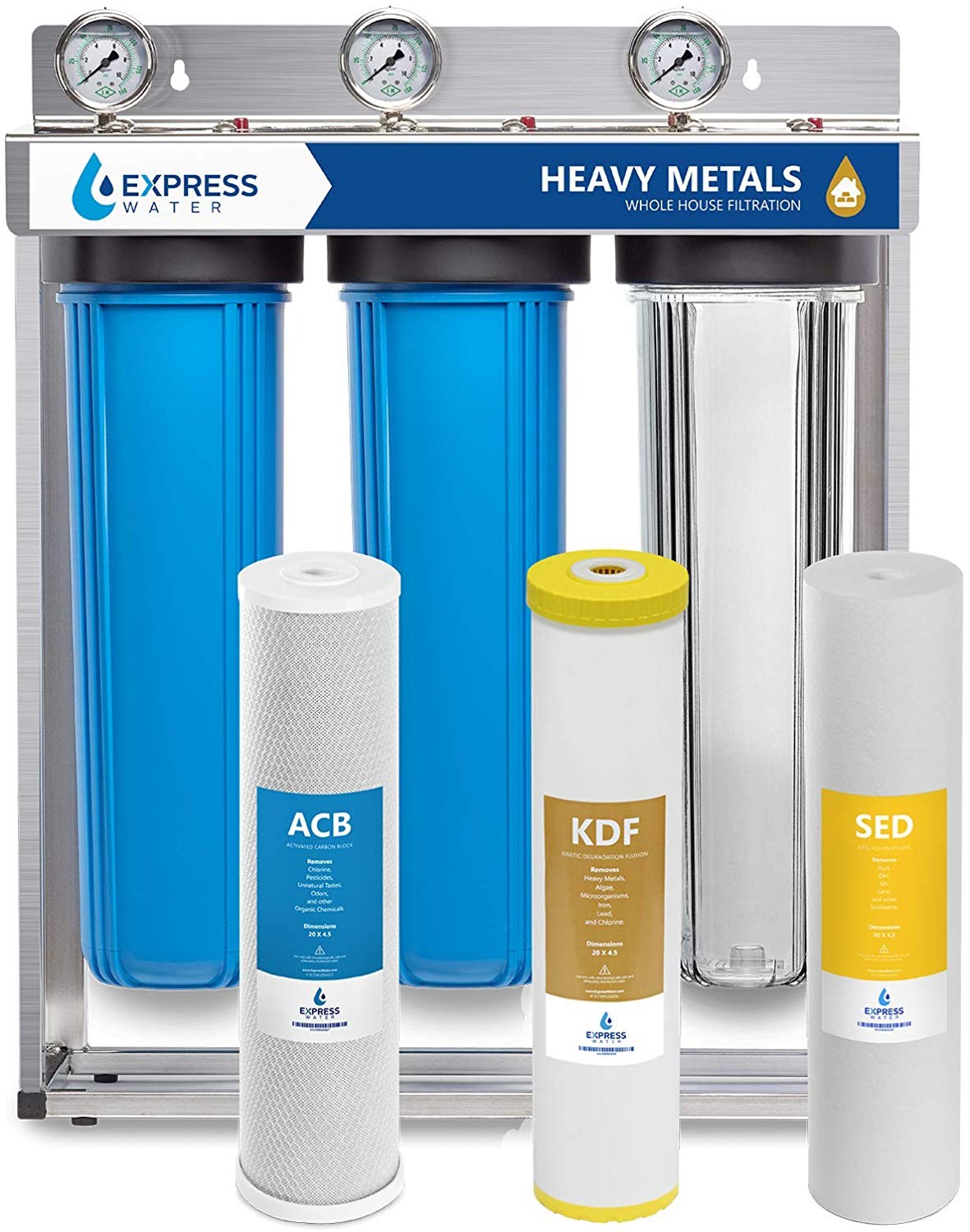 Express water wh300scks whole house water filter