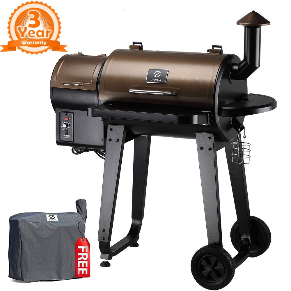 Z smoker grill wood pellet smoker