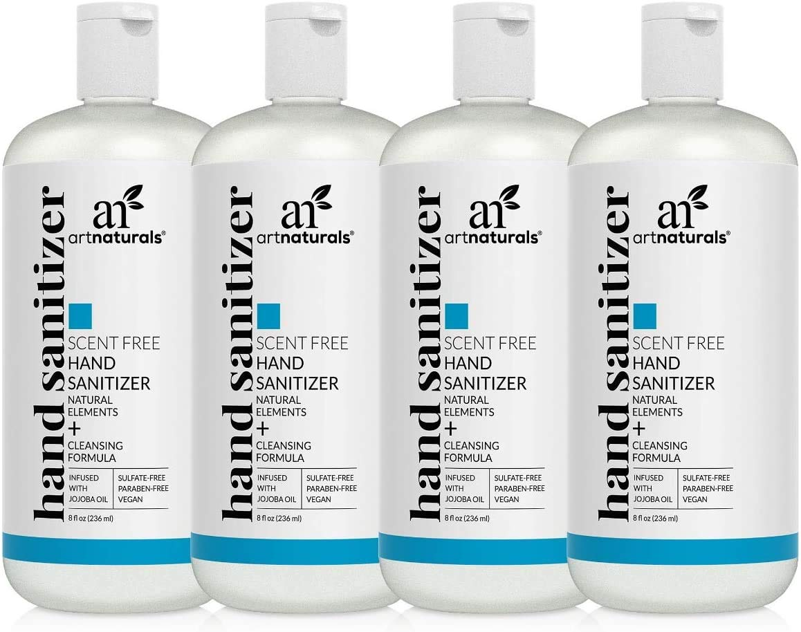 Artnaturals natural hand sanitizer gel