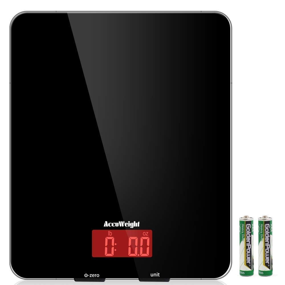 Accuweight digital multifunction kitchen scale